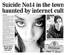 Suicide No 14 in the town haunted by internet cult