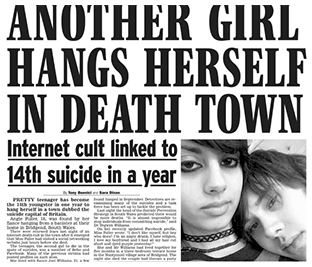 Another Girl Hangs Herself in Death Town
